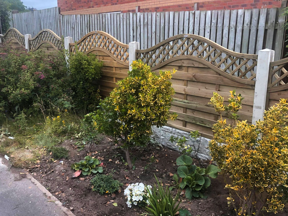 Contemporary Fence Panels